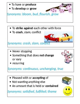 Grade 4 Sadlier's Vocabulary Workshop Flashcards Unit 6