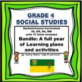 Grade 4 Saskatchewan Social Studies Bundled Set (Complete)
