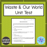 Grade 4 Science Alberta - Waste and Our World Unit Test