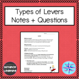 Grade 4 Science Alberta - Wheels and Levers - Types of Levers
