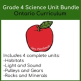 Grade 4 Science Bundle - Science for the Whole Year, Ontar