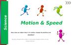 Grade 4 Science Motion & Speed