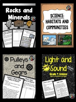 Science: Grade 4 Science Unit Bundle- Based on the Ontario