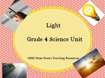 Grade 4 Science Units Bundled