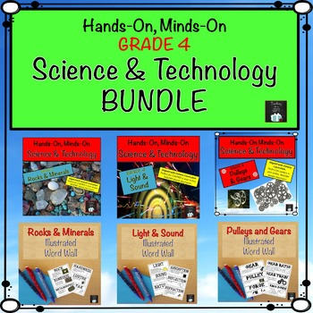 Grade 4 Science and Technology Centres Bundle