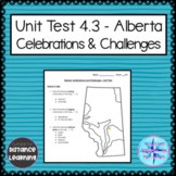 Grade 4 Social Alberta - Celebrations and Challenges Unit Test