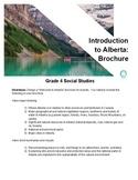 Grade 4 Social Studies: Alberta Brochure
