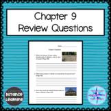 Grade 4 Social Studies Alberta - Chapter 9 Questions