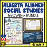 Alberta Social Studies Bundle Grade 4
