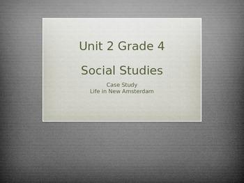 Grade 4 Social Studies Case Study for Unit 2