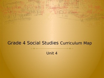 Grade 4 Social Studies Curriculum Map Unit 4 The New Nation