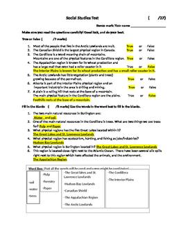 Grade 4 Social Studies Test