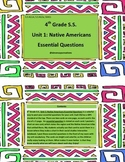 Grade 4 Social Studies Unit 1: Native Americans Essential