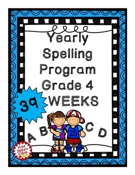Spelling Program YEAR LONG Grade 4 BONUS Spelling Strategi