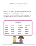 Grade 4 Spelling and Vocabulary-Week 5