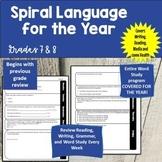 Grade 7 Ontario Spiral Language