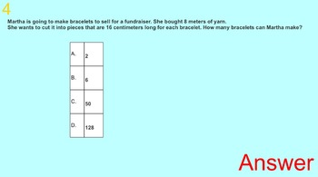 Grade 4 Standardized Test Practice