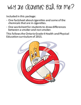 Grade 4 Substance Use - Health Curriculum