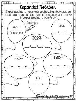 Grade 4 Subtraction Strategies- Extending the Subtrahend