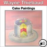 Grade 4 Thiebaud Inspired Cake Paintings