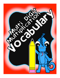 Multi Digit Multiplication Vocabulary