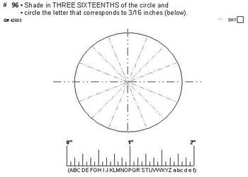 Grade 4 FRACTIONS UNIT: [AMERICAN ruler] (4 worksheets & 7 quizzes)