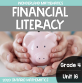 Grade 4, Unit 16: Financial Literacy (Wonderland Math)