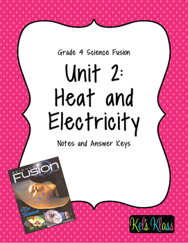 Grade 4 Unit 2 Fusion Notes: Heat and Electricity