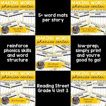 *MEGA-BUNDLE* Grade 4 Unit 3 Reading Street Activities