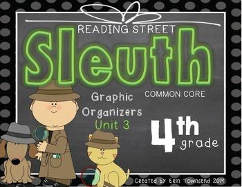 Grade 4 Unit 3 Reading Street SLEUTH Graphic Organizers