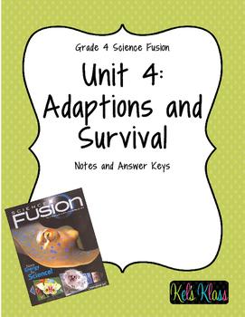 Grade 4 Unit 4 Fusion Notes: Adaptation and Survivals