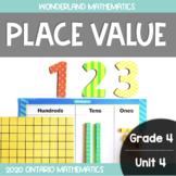 Grade 4, Unit 4: Place Value (Wonderland Mathematics)