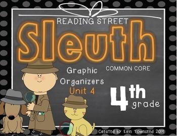Grade 4 Unit 4 Reading Street SLEUTH Graphic Organizers
