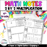 Grade 4- Unit 6- Multiplication Guided Math Notes
