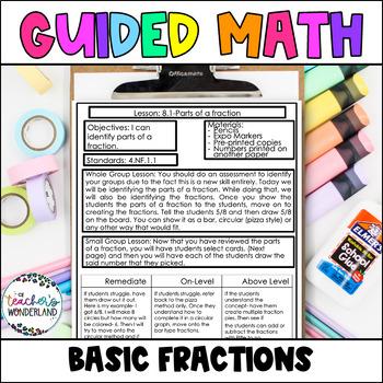 Grade 4- Unit 8- Fractions