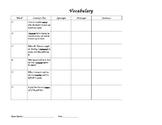 Grade 4 Vocabulary: Context Clues Activity 2