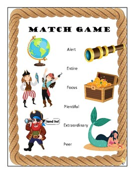 Grade 4 Vocabulary Unit Workbook