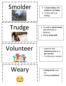 Grade 4 Sadlier's Vocabulary Workshop Flashcards Unit 8