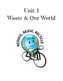 Grade 4 - Waste and Our World Full Alberta Unit Workbook