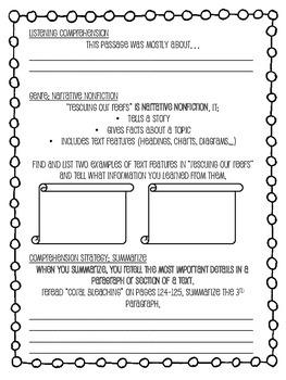 Grade 4 Wonders - Unit 2 Week 3 Skills Packet