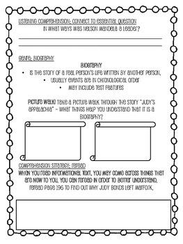 Grade 4 Wonders - Unit 3 Week 3 Skills Packet