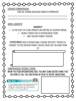 Grade 4 Wonders - Unit 3 Week 4 Skills Packet