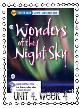 Grade 4 Wonders - Unit 4 Week 4 Skills Packet
