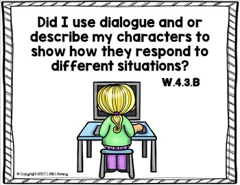 Common Core Standards Posters for Writing-Grade 4