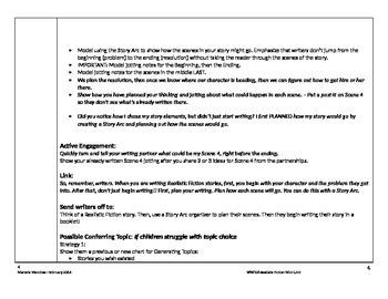 Grade 4 Writing Workshop Unit of Study - Realistic Fiction