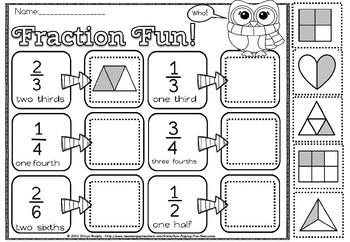 Grade 4 fraction sort(50% off for 48 hours)