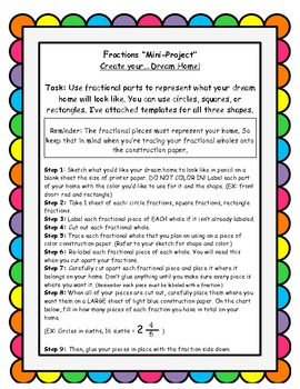 Grade 4 math DOK: FRACTIONS-4 DIfferentiated tasks, MINI PROJECT+Math Monster!