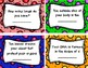 Science Entrance or Exit Cards - The Human Body (Grade 5 and 6)