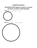 Grade 4 or 5 Diameter and Radius Study
