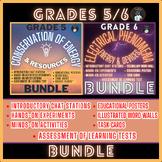 ONTARIO SCIENCE:GRADES 5/6 CONSERVATION OF ENERGY & ELECTR